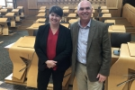 Ruth Davidson MSP and Paul Davies AM